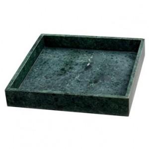 grön bricka