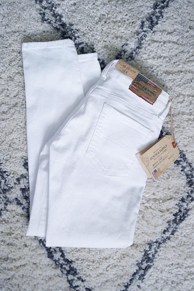 vita jeans inte genomskinliga